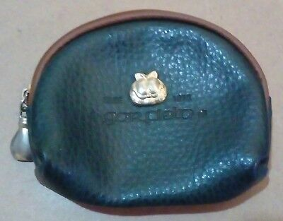 Collectable Garfield Since 1976 Brand Green Faux Leather PU Coin Change Purse