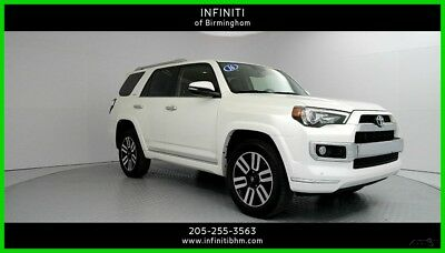 2016 Toyota 4Runner Limited 2016 Limited Used 4L V6 24V Automatic 4WD SUV Premium Moonroof