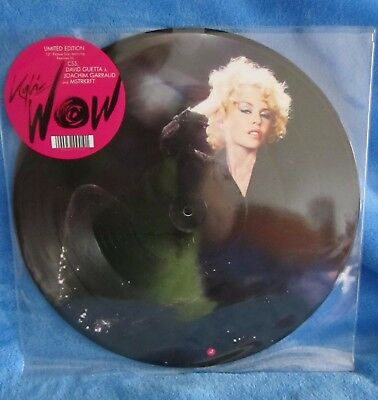 "Kylie Minogue 2008 Limited Edition Wow 12"" Vinyl Picture Disc Single"