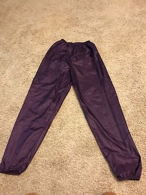 Body Wrapper Warm Up Trash Bag Pants