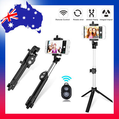 New Wireless Bluetooth Selfie Stick Monopod For Mobile Phones Samsung iPhone