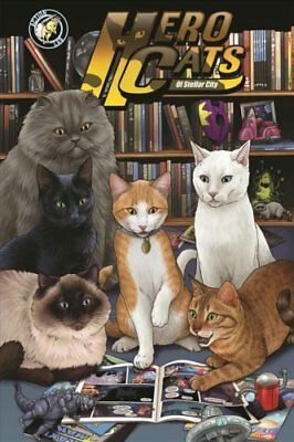 Hero Cats of Stellar City: New Visions Volume 5 by Kyle Puttkammer...
