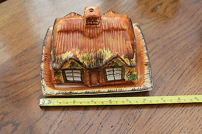 Price Bros cottage ware butter dish