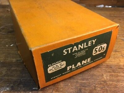 Stanley 50S Plow and Beading Plane - Mint in Box