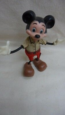DISNEY Mickey Mouse Bendy Figure by Marx (WDP)