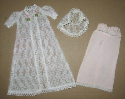 Japanese Exclusive  Tammy Outfit  Nightgown #7209 AND Negligee  #7202