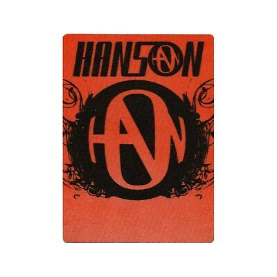 Hanson authentic Staff 1990's tour Backstage Pass