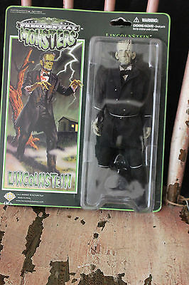 "Presidential Monsters Heroes In Action 8"" figure Lincolnstein"