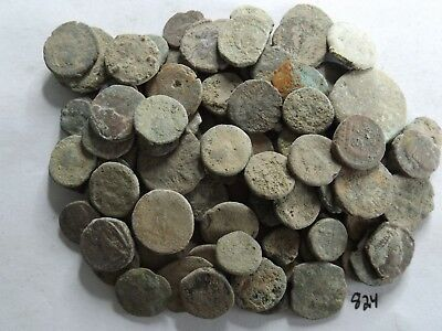 Lot of 100 Low Quality Uncleaned Ancient Roman; 153 Grams!