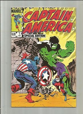 Captain America Special Edition #1 8.5-9.0 Free Combined Shipping