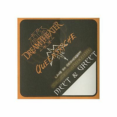 Queensryche authentic 2003 Tribe Tour Dream Theater satin Backstage Pass