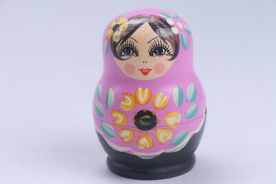 Nesting Doll Russian Doll Matryoshka Hand Painted Moscow Traditional  bb558