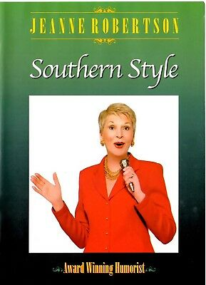"Jeanne Robertson  "" Southern Style ""   Rare DVD   Comedian  * Humorist"