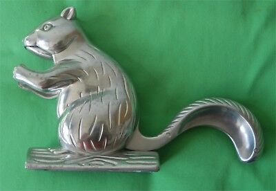 """Nut Cracker - Shape of a Squirrel tale and mouth cracks the nut - 5 1/2"""" Tall"""
