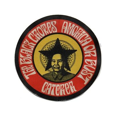 Black Crowes Authentic 1995 Amorica or Bust Tour satin cloth Backstage Pass