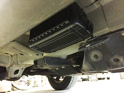 Extra Large Magnetic Stash Box - Under Car Secret Compartment 190lbs Pull Force