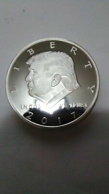 "Tribute Coin  ""trump Presidential""  One Troy Oz. .999 Fine * Uncirculated"