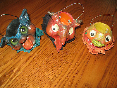 Silver Willow LOT OF 3  PAPER MACHE  USED