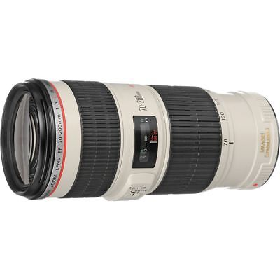 Canon EF 70-200mm f/4 L IS USM Telephoto Zoom Lens