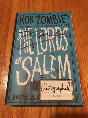 Rob Zombie Signed The Lords of Salem Trade Ed Book 1/1