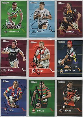Signed 2013 Traders Cards **Variety Of Players available**