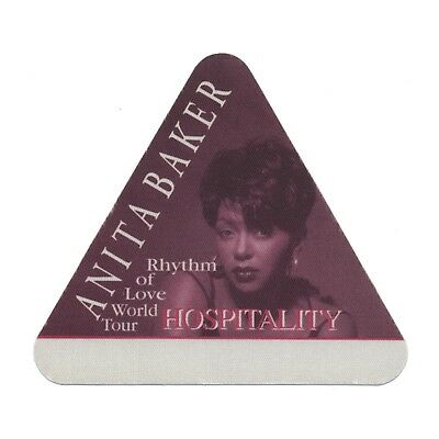 Anita Baker authentic Hospitality 1994 tour Backstage Pass