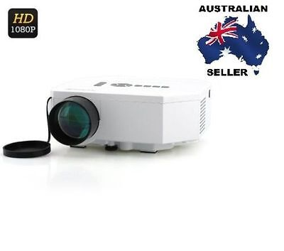Mini LED Projector - LCD Image System, LED Lamp,150 Lumens, HDMI Port AUS SELLER