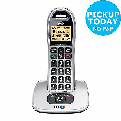 BT Big Button 4000 Cordless Telephone - Single