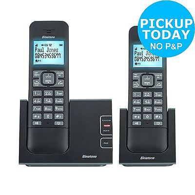 Binatone Defence Cordless Phone with Answer Machine - Twin