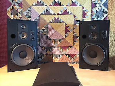 Realistic Optimus-50 Vintage audio loudspeakers 3way system with 12inch diver