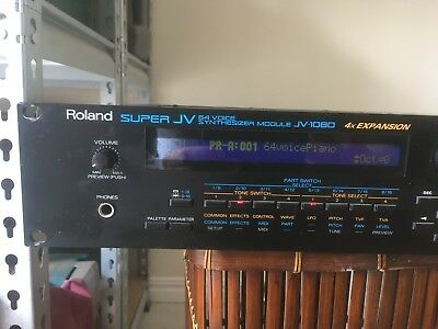 Roland JV-1080 Super JV Synthesizer Module