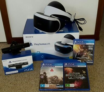 PlayStation VR Headset Camera and Games