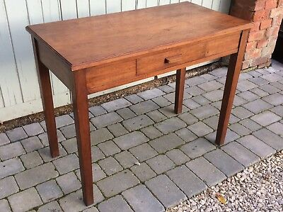 1930/40's Retro Vintage Mahogany Writing  Desk / Side Table. Dovetail Joints.