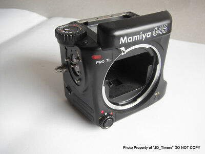 Used Mamiya 645 Pro TL Medium Format BODY ONLY for Spares or Repair- Japan