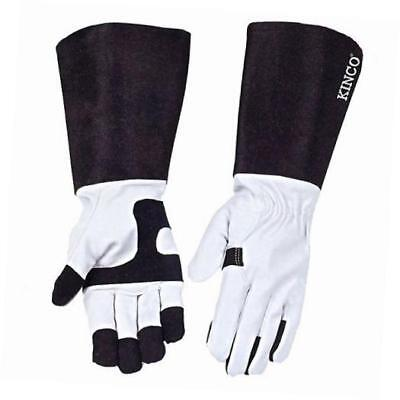 kinco 2103-s pigskin leather ladies protective garden rose gloves, small,