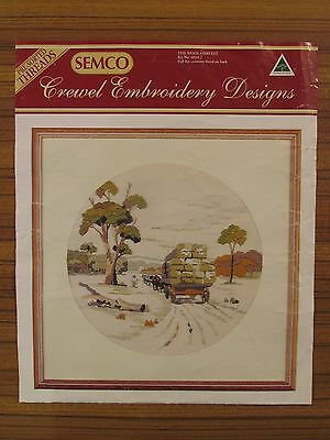 Semco Crewel Embroidery Designs - 'the Wool Harvest' Kit No. 4010.2  As New