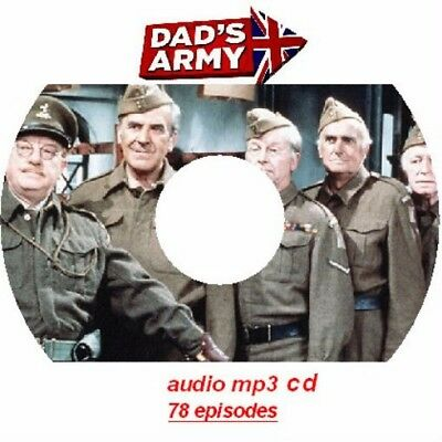 Dads Army  78 Episodes Plus The Sequel  On One Mp3 Cd