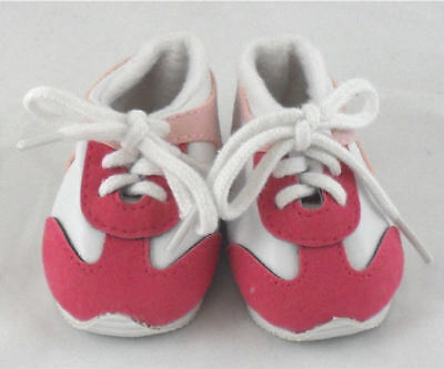 Pink/White Sneakers Doll Shoes 4 Baby Alive / Baby Born / Baby Born Sister