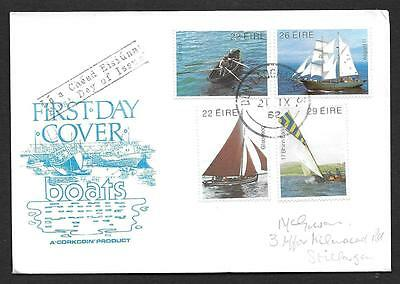 1982      FDC   TRADITIONAL BOATS       Corkcoin