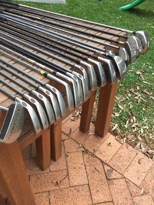 Golf Clubs Irons And Drivers