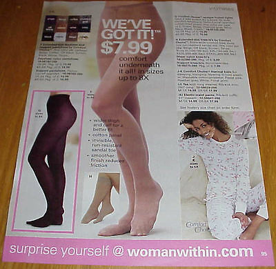 Sexy Women in Pantyhose Hosiery Slips Lot #3 of Catalog Ads Clippings #031816
