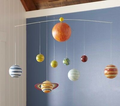 NEW Pottery Barn Kids Planet Ceiling Mobile - Astronomy Space