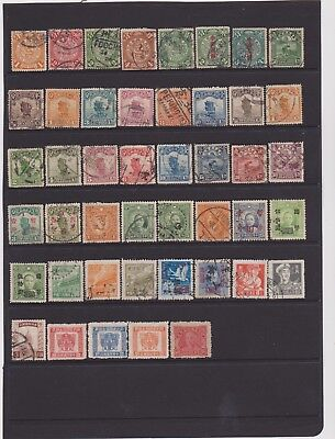 CHINA 1898-1960,  45 used/unused.