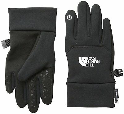 The North Face Kid's ETIP Gloves - TNF Black, Large