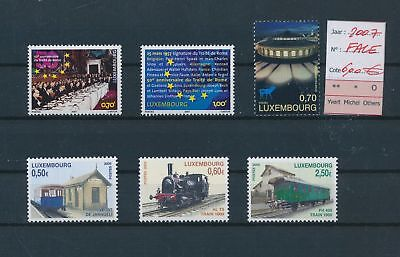 LH09499 Luxembourg 2007 nice lot of stamps MNH face value 6 EUR