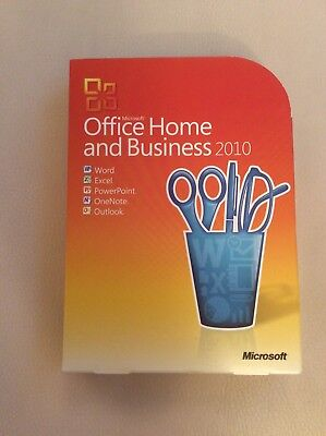 Microsoft Office Home and Business 2010 - DVD + Product Key PC