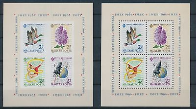 LH12789 Hungary imperf philatelic exhibition sheets MNH