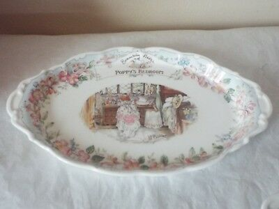 Royal Doulton Brambly Hedge Poppy`s Bedroom Regal Tray Jill Barklem 1st Quality.