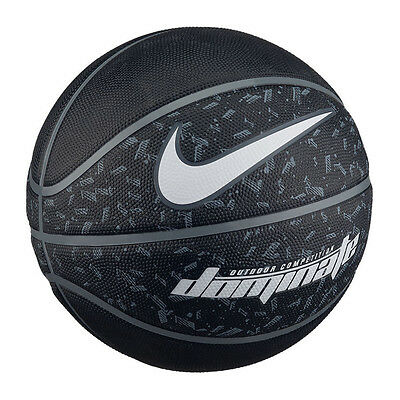 NEW Nike Dominate Basketball - Full Size 7 - Outdoor Ball - Black/Grey/White