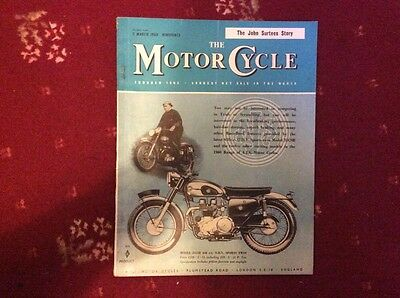 The Motor Cycle Magazine March 1960